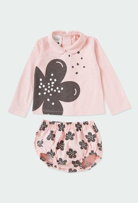 "Pack malha ""floral"" do bébé ORGANIC_1"