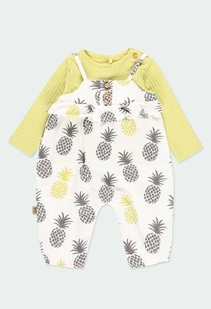 Pack malha para o bebé menina ORGANIC_1