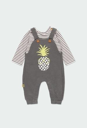 Pack en tricot pour bébé garçon ORGANIC_1