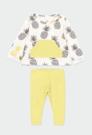 Pack en tricot pour bébé fille ORGANIC_1