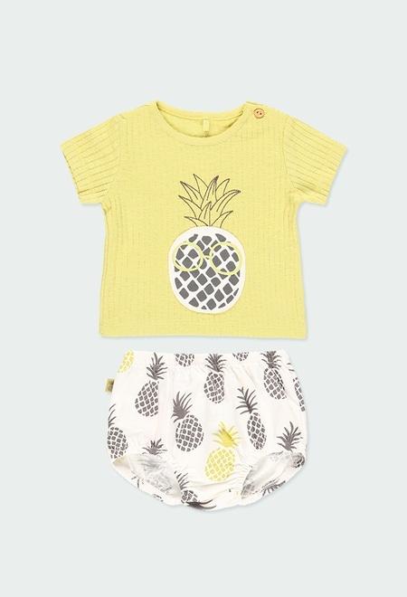 Pack en tricot pour bébé ORGANIC_1
