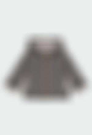 Veste en molleton flame pour bébé ORGANIC
