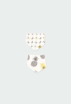 Pack 2 pañuelos babero de bebé ORGANIC_1