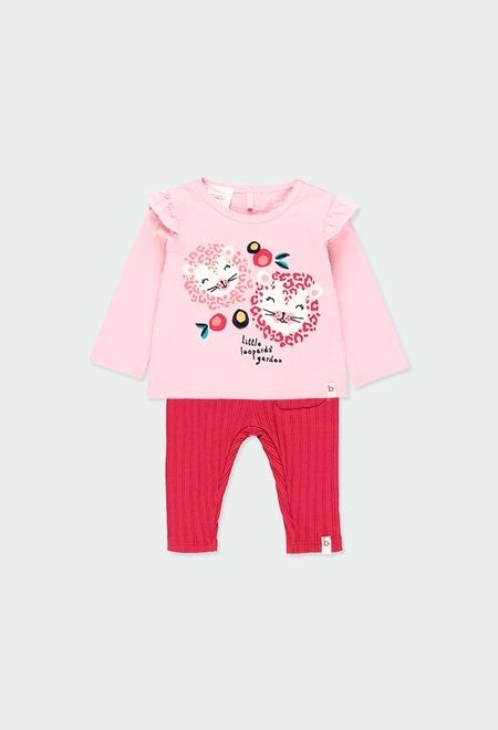 """Pack en tricot """"animaux"""" pour bébé - organique_1"""