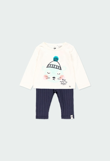 Pack knit combined for baby - organic_1