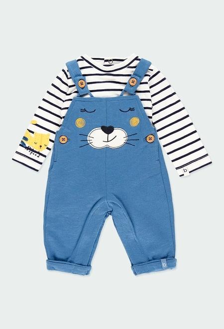Pack strick gestreift für baby - organic_1