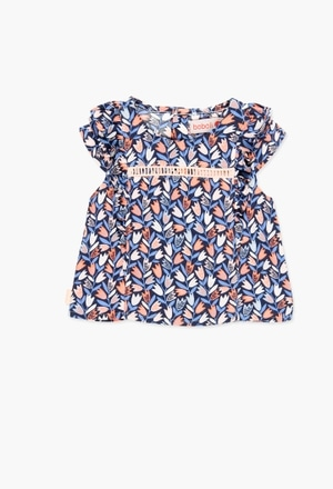 Viscose blouse for baby girl_1