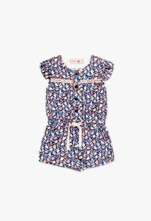 Viscose jumpsuit for baby girl_1