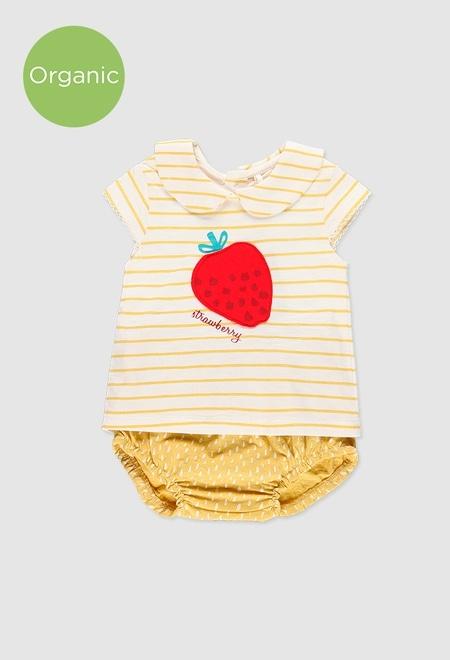 Pack en tricot pour bébé fille_1