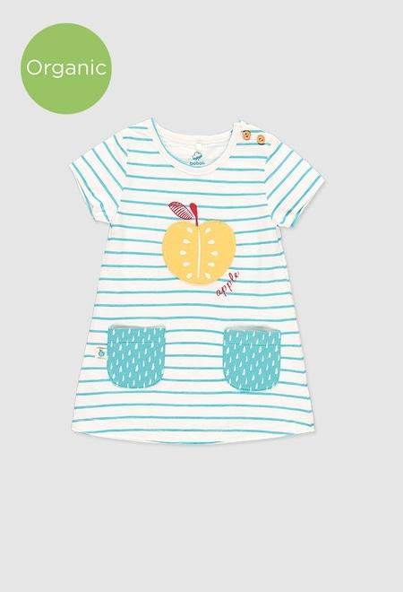 Vestido punto de bebé niña_1