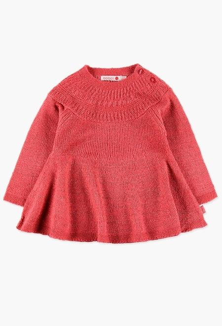 Vestido de tricotosa cómodo y elegante_1