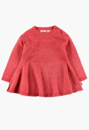 Robe en tricot confortable et élégante_1