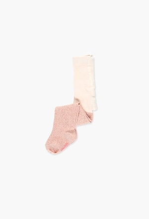 Thick tights lurex for baby girl_1