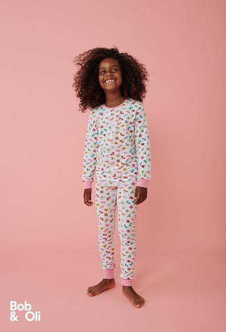 "Pyjamas ""butterfly"" for girl - organic_1"