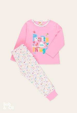 Schlafanzug gestrickt für mädchen - organic_1
