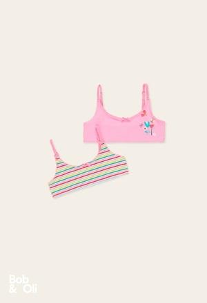 Pack 2 tops for girl - organic_1