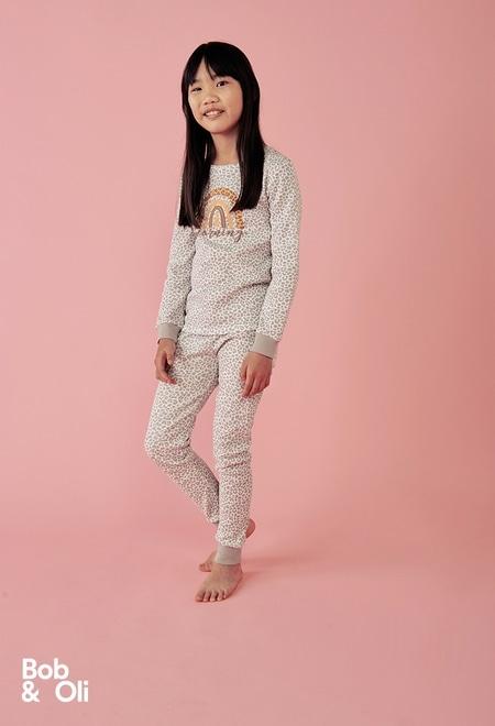 Pijama animal print de niña - orgánico_1