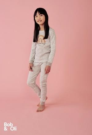 Schlafanzug für mädchen - organic_1