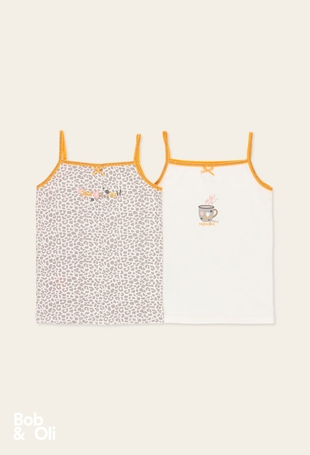 Pack 2 camisetas de niña - orgánico_1