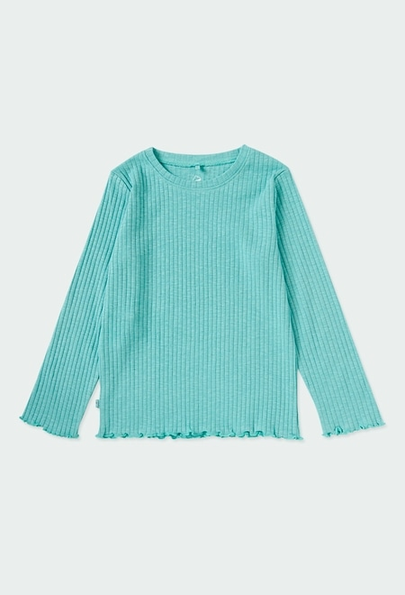 Camiseta malha para menina ORGANIC_1