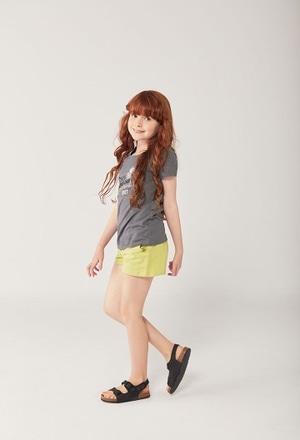 Camiseta malha flame para menina ORGANIC_1