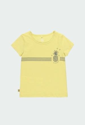 Maglietta jersey flame per ragazza ORGANIC_1