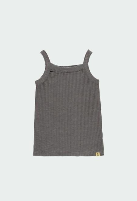 T-Shirt gestrickt für mädchen ORGANIC_1