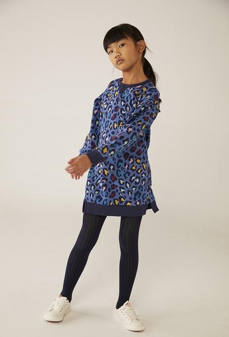 Fleece dress for girl - organic_1