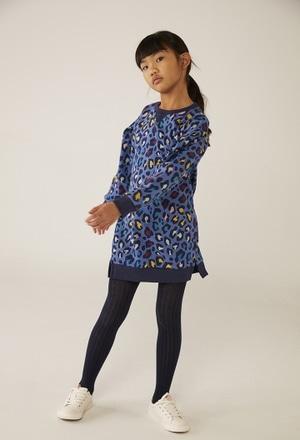 Kleid plüsch für mädchen - organic_1