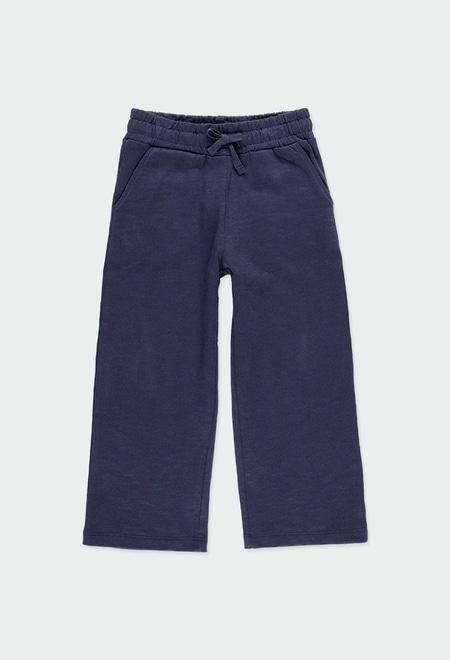 Pantalon en molleton flame pour fille - organique_1