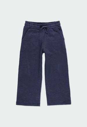 Fleece trousers flame for girl - organic_1
