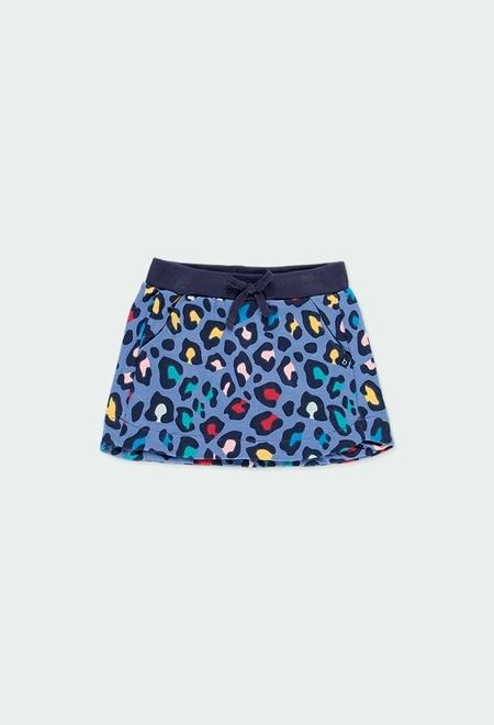 Fleece skirt flame for girl - organic_1