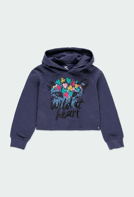 Sweatshirt felpa flame para menina - orgânico_1