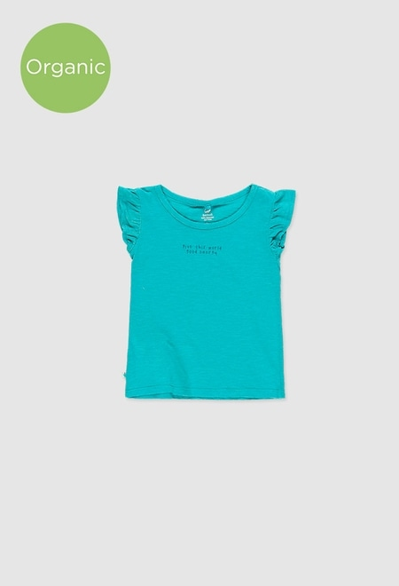 T-Shirt tricot flame pour fille_1