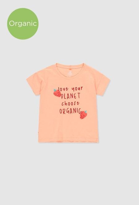 T-Shirt tricot flame pour fille_1