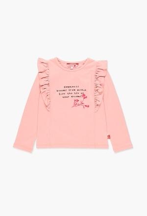 T-shirt en jersey qui respire la joie_1