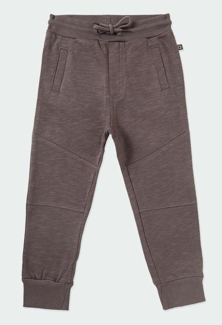Pantalon en molleton flame pour garçon ORGANIC_1