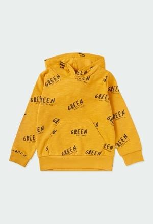 "Sweatshirt felpa ""letras"" para menino ORGANIC_1"