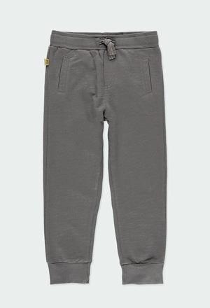 Pantaloni felpati flame per ragazzo ORGANIC_1