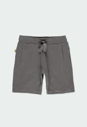 Short  maglia flame per ragazzo ORGANIC_1