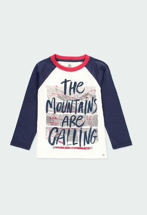 T-Shirt tricot flame pour garçon - organique_1