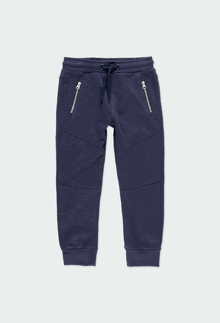 Pantalon en molleton flame pour garçon - organique_1