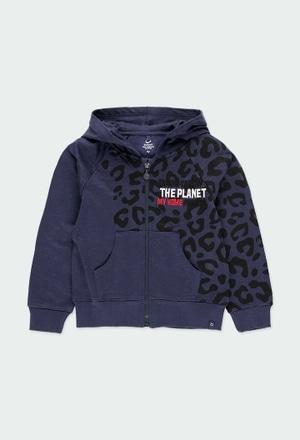Fleece jacket flame - organic_1
