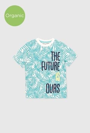 Camiseta punto flamé de niño_1