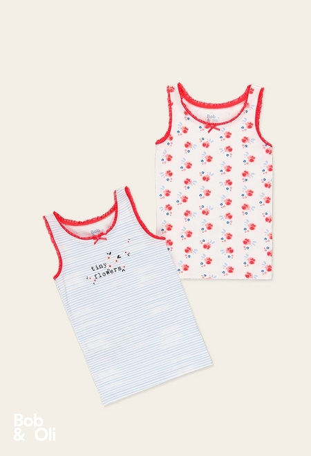 Pack 2 t-Shirts for girl - organic_1