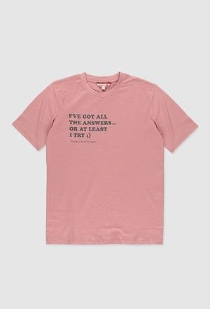T-Shirt gestrickt flame_1