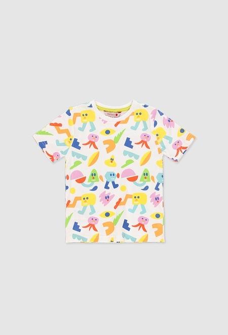 Camiseta punto liso unisex_1