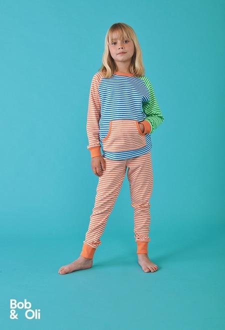 Pyjama à rayures unisex - organique_1