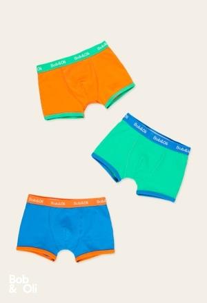 Pack 3 boxer per ragazzo - organico_1