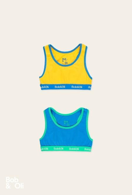 Pack 2 tops pour fille - organique_1